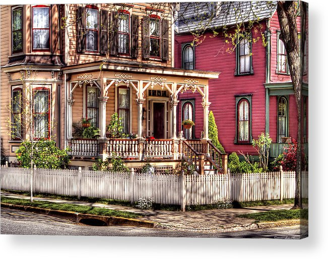 Savad Acrylic Print featuring the House - Country Victorian by Mike Savad
