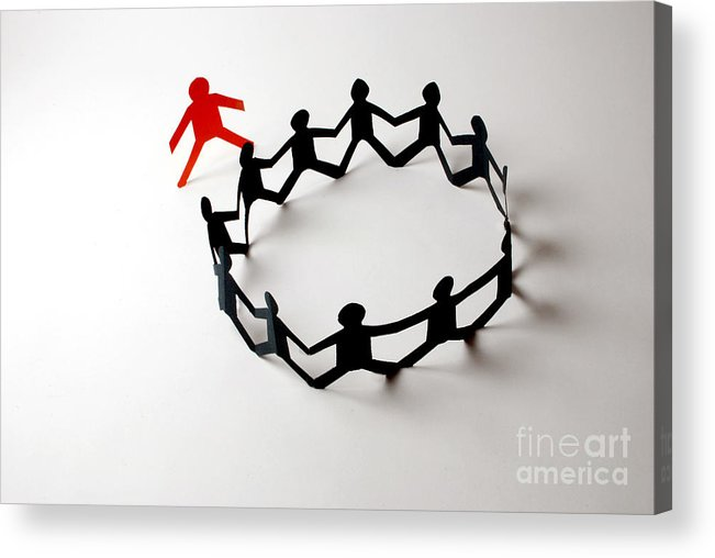 Concept Acrylic Print featuring the photograph Conceptual Situation by Photo Researchers, Inc.