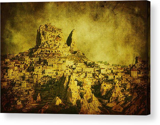 Cappadocia Acrylic Print featuring the photograph Persian Empire by Andrew Paranavitana