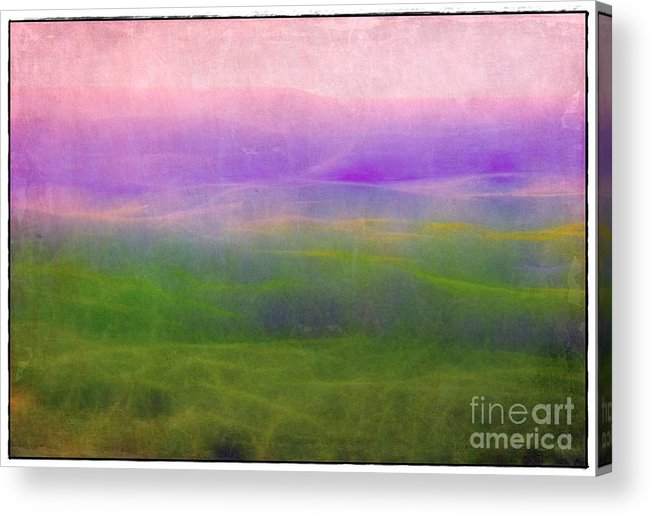 Arkansas Acrylic Print featuring the photograph The Distant Hills by Judi Bagwell