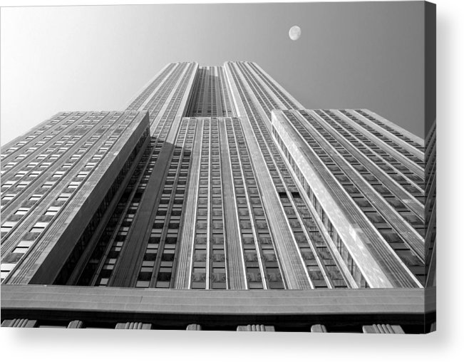 Empire State Building Acrylic Print featuring the photograph Empire State Building by Mike McGlothlen