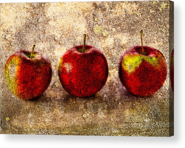 Apple Acrylic Print featuring the photograph Apple by Bob Orsillo