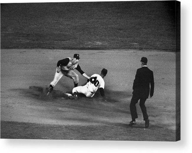 1962 Acrylic Print featuring the photograph Maury Wills (1932- ) by Granger