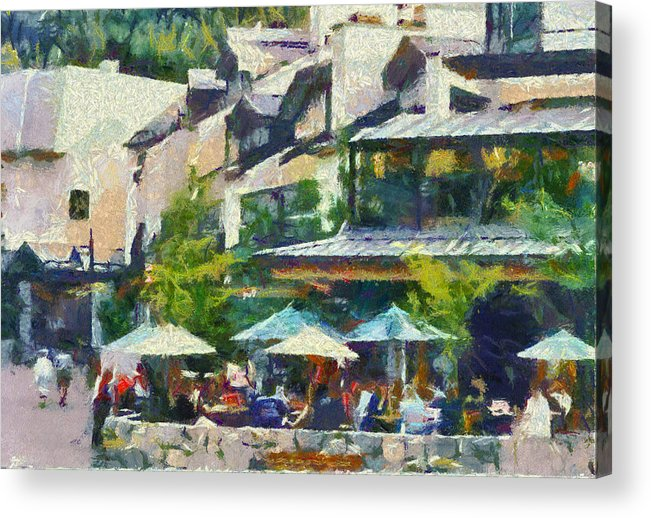 Whistler Acrylic Print featuring the photograph Whistler Two by Dale Stillman