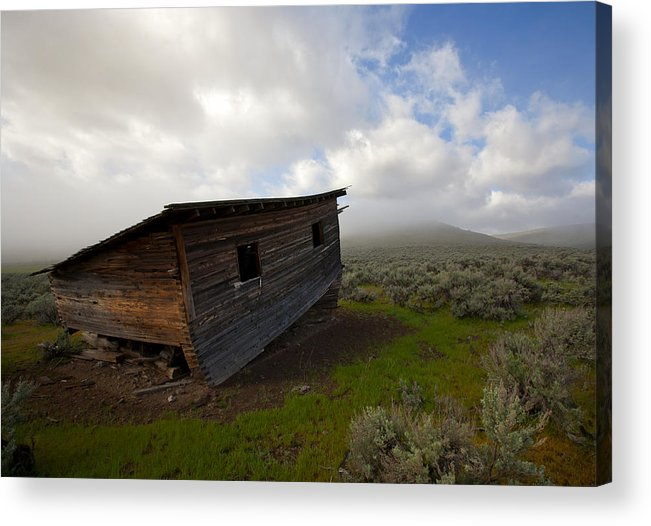Ruin Acrylic Print featuring the photograph Seen Better Days by Mike Dawson