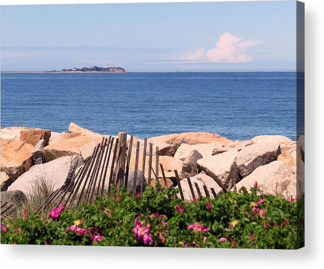 Beach Acrylic Print featuring the photograph At The Beach by Janice Drew