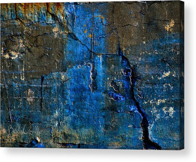 Industrial Acrylic Print featuring the photograph Foundation Three by Bob Orsillo