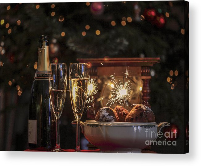 New Year's Eve Acrylic Print featuring the photograph Happy New Year by Patricia Hofmeester