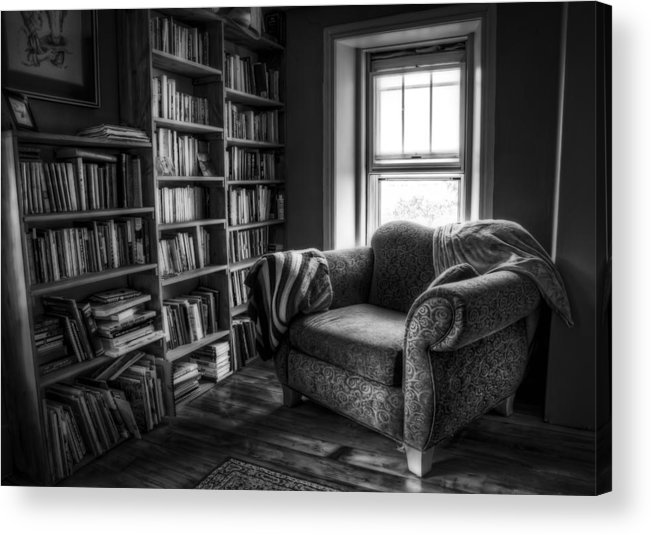Library Acrylic Print featuring the photograph Sanctuary by Scott Norris