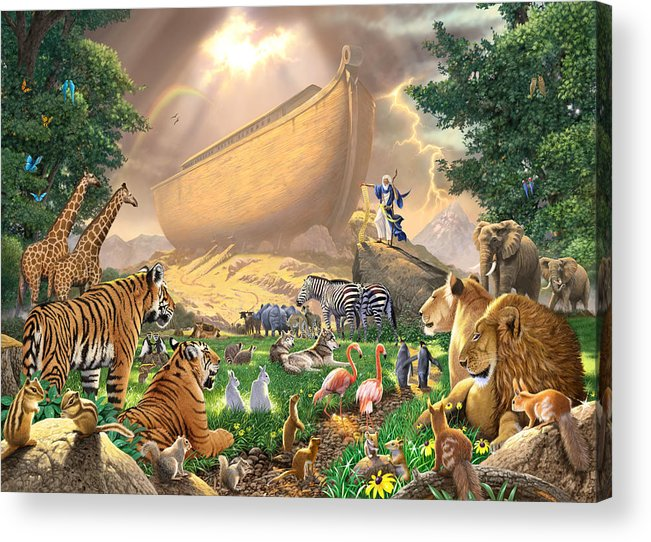 Animal Acrylic Print featuring the photograph The Gathering by Chris Heitt