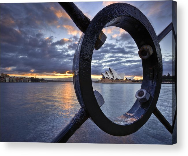 Sydney Opera House Acrylic Print featuring the photograph Taking Centre Stage by Renee Doyle