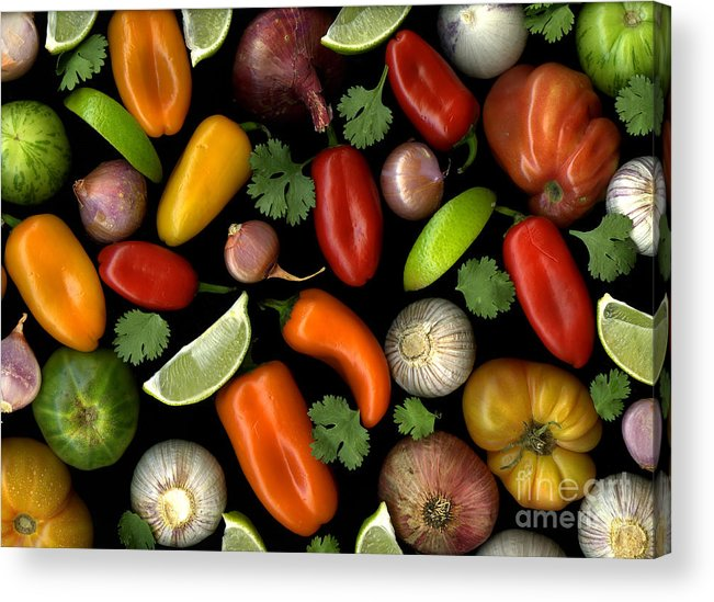 Culinary Acrylic Print featuring the photograph Salsa by Christian Slanec