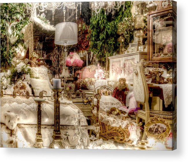 Romantic Acrylic Print featuring the photograph Lost In A Dream by Vicki Jauron
