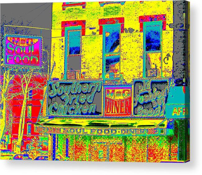 Harlem Acrylic Print featuring the photograph Soul Food by Steven Huszar