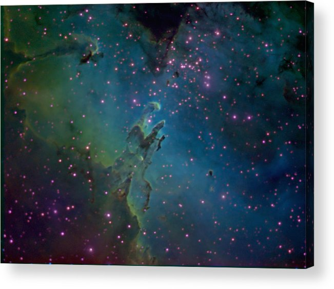 Astronomy Acrylic Print featuring the photograph The Eagle by Charles Warren