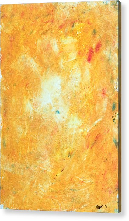 Abstract Expressionism Acrylic Print featuring the painting Untitled 5 by Kongtrul Jigme Namgyel