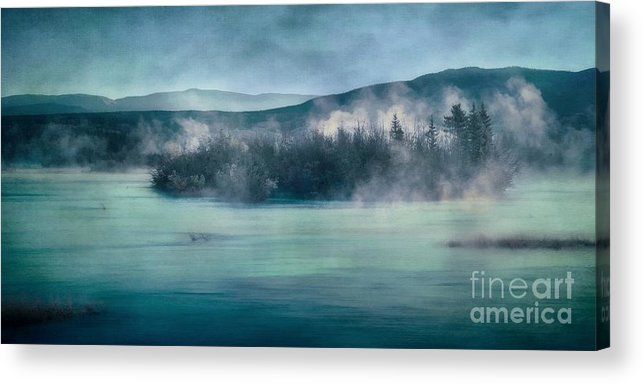 Yukon River Acrylic Print featuring the photograph River Song by Priska Wettstein