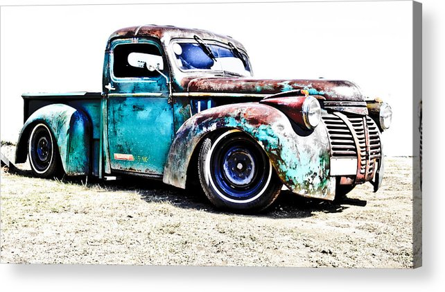 Chev Pickup Acrylic Print featuring the photograph Chevrolet Pickup by Phil 'motography' Clark