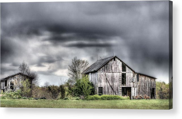 Ominous Acrylic Print featuring the photograph Ominous by JC Findley