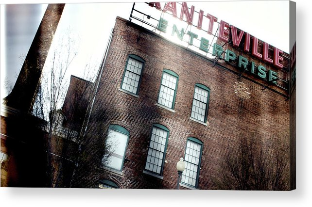 enterprise Mill Acrylic Print featuring the photograph Slit Scan 2 by Patrick Biestman