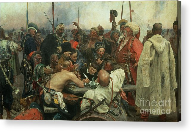 Cossacks Write Letter To Turkish Sultan