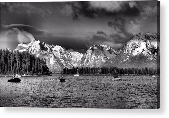 Landscape Acrylic Print featuring the photograph Boating by Dan Sproul