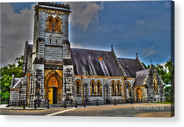 Church Acrylic Print featuring the photograph Bodalla All Saints Anglican Church by Joanne Kocwin