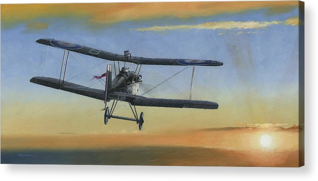 Se5a Acrylic Print featuring the painting Morning Serenade by Wade Meyers