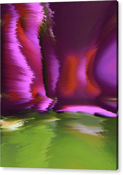 Digital Art Acrylic Print featuring the digital art Flight Of The Imagination by Gerlinde Keating - Keating Associates Inc