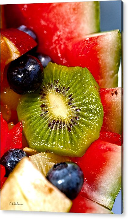Fruit Acrylic Print featuring the photograph Refreshing by Christopher Holmes