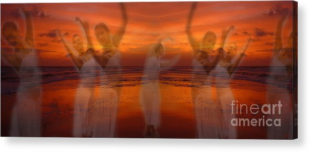 Dance Acrylic Print featuring the photograph Eternal Dance by Jeff Breiman