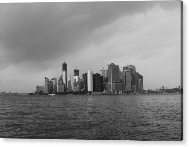 Manhattan Acrylic Print featuring the photograph Manhattan by Nina Mirhabibi