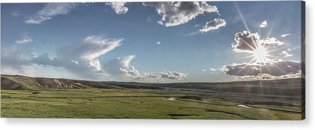 Horizontal Acrylic Print featuring the photograph Quiet Prairie by Jon Glaser