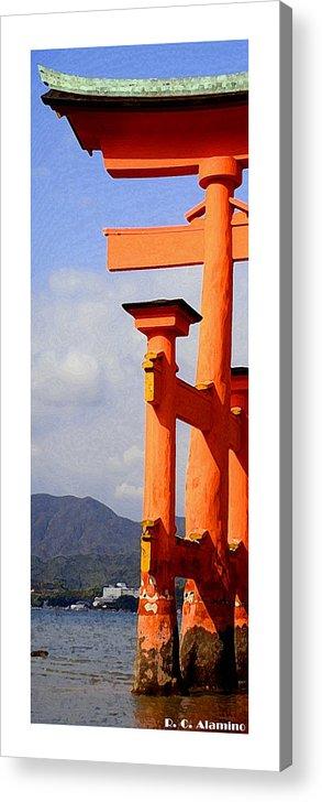 Miyajima Acrylic Print featuring the photograph Citymarks Miyajima by Roberto Alamino