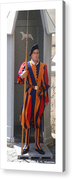 Citymarks Acrylic Print featuring the photograph Citymarks Vatican by Roberto Alamino
