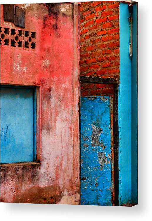 Rosa's Place Acrylic Print featuring the photograph Rosa's Place by Skip Hunt