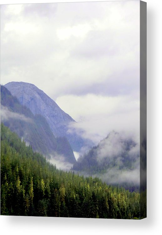 Mountains Acrylic Print featuring the photograph Purple Mountain Majesties by Mindy Newman