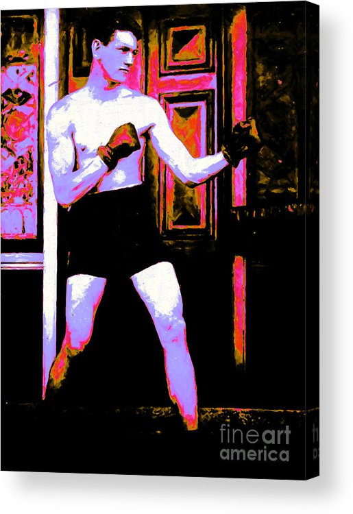 Sport Acrylic Print featuring the photograph The Boxer - 20130207 by Wingsdomain Art and Photography