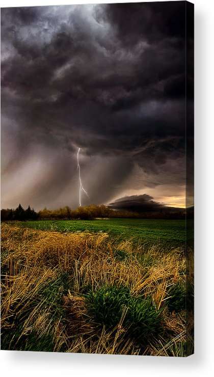 Storm Acrylic Print featuring the photograph Profound by Phil Koch