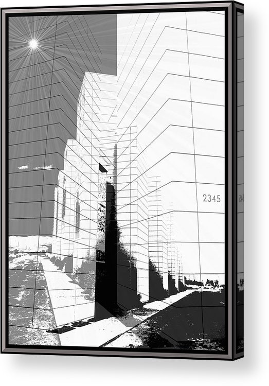 Buildings Acrylic Print featuring the photograph Building Blocks by Glenn McCarthy Art and Photography