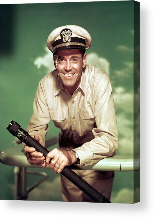 1950s Movies Acrylic Print featuring the photograph Mister Roberts, Henry Fonda, 1955 by Everett