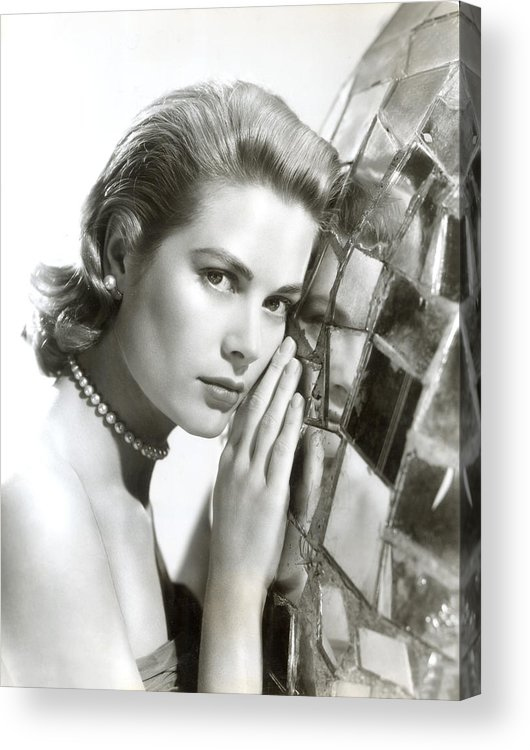 1950s Portraits Acrylic Print featuring the photograph Grace Kelly, 1954 by Everett