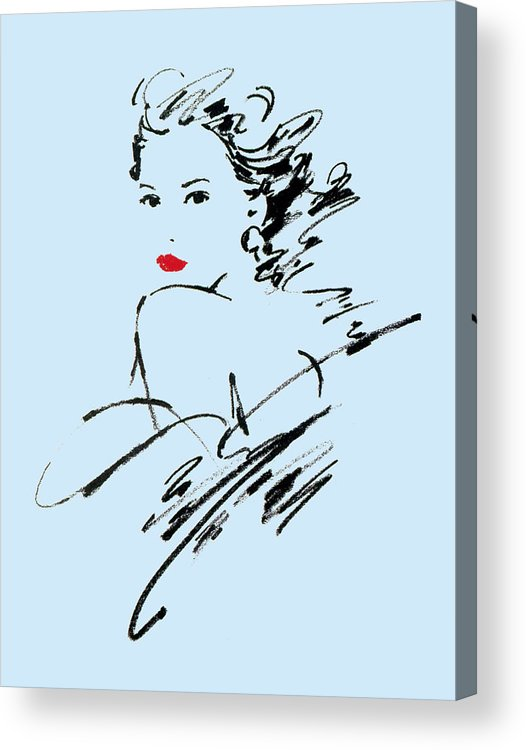 Adult Acrylic Print featuring the photograph Monique Variant 2 by Giannelli