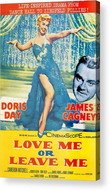 Love Me Or Leave Me Acrylic Print featuring the photograph Love Me Or Leave Me by Georgia Fowler