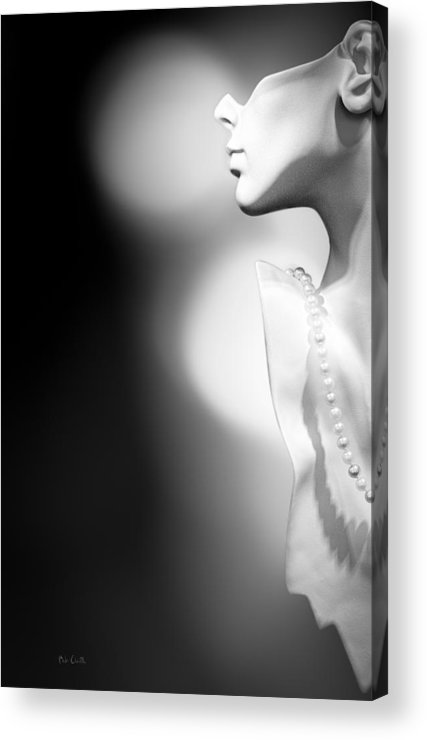 Mannequin Acrylic Print featuring the photograph Nod And A Whisper by Bob Orsillo