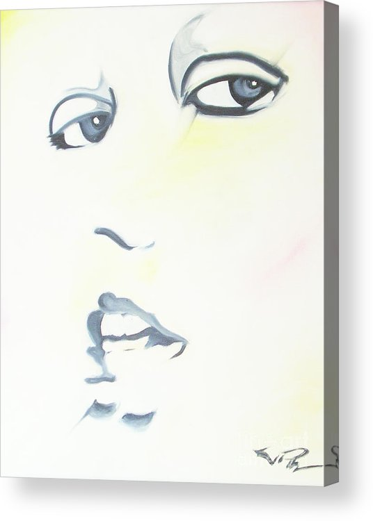 Essense Acrylic Print featuring the painting Essense by Joseph Palotas