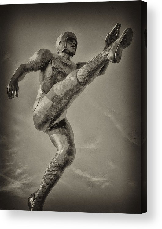 Football Acrylic Print featuring the photograph Field Goal by Bill Cannon