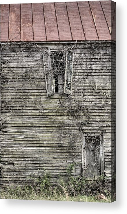 The Window Up Above Acrylic Print featuring the photograph The Window Up Above by JC Findley