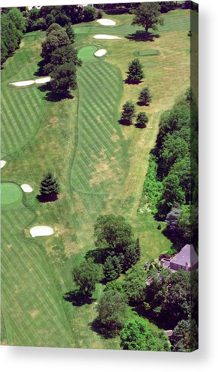 Philadelphia Cricket Club Acrylic Print featuring the photograph Philadelphia Cricket Club St Martins Golf Course 8th Hole 415 W Willow Grove Ave Phila Pa 19118 by Duncan Pearson