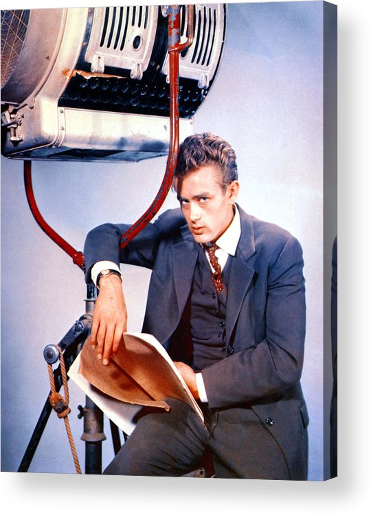 1950s Portraits Acrylic Print featuring the photograph East Of Eden, James Dean, 1955 by Everett
